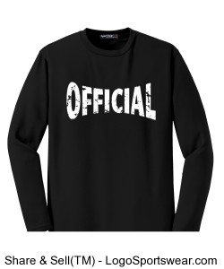 Sport-Tek - Dri-Mesh Long Sleeve T-Shirt Design Zoom