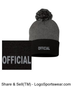 Pom Pom Knit Cap Design Zoom