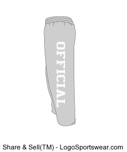 Weatherproof Cross Weave Open Bottom Sweatpants Design Zoom